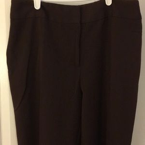 Size 14 brown trousers